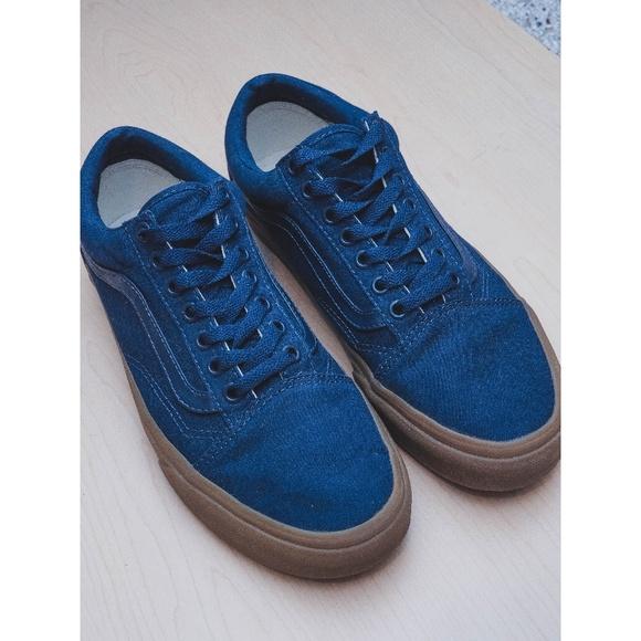 78b92734bd7f Navy Blue Vans Old Skool Shoes. M 5b678b2bc9bf50b979c73b40